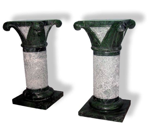 Pair of Fogliati table bases