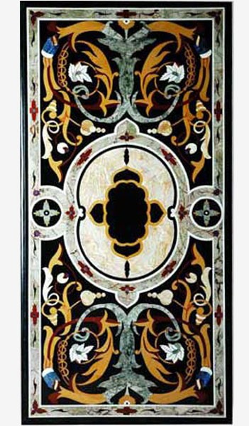 Gothic Inlaid Table