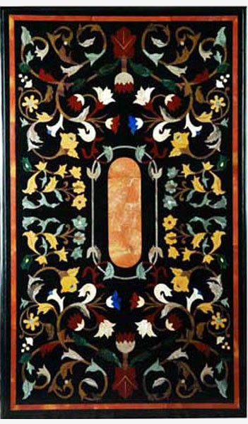 Inlay table Sicily