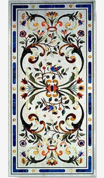 Raffaello Inlaid Table art.7